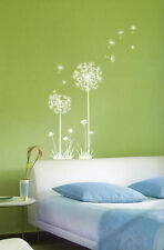 Dandelion Spore Flower Wall Stickers Home Vinyl Decals