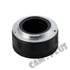 Camera Adjustable Macro Focusing Helicoid Adapter Tube For M42 Lens to Sony NEX