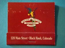 Matches Matchbook ~*~ CRACKER FACTORY Restaurant & Casino ~ Black Hawk, COLORADO