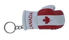 Porte clés Drapeau CANADA CANADIEN Mini gant de boxe clé clefs voiture moto NEUF