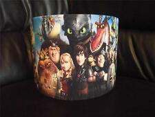 "HOW TO TRAIN YOUR DRAGON D2 - group 10"" DRUM CEILING LAMPSHADE LIGHTSHADE"