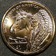 BU United States 2012 Sacagawea Native American Trade Routes dollar $1 coin P