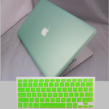 "Rubberized/Painted Hard Laptop Case Cover for Macbook Air 11""Pro 13""15""+Keyboard"