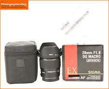 Sigma 28mm F1.8 EX DG Aspherical Macro Wide Angle Lens for Canon + Free UK Post