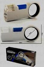 Taschen-Leuchtlupe Handlupe  8X 2 LED Licht Taschenlampe