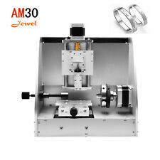 AM30 mini portable cnc jewelry Ring Medal Pendant pen engraving router