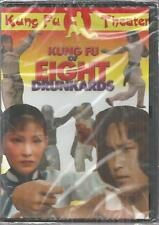 Kung Fu Of Eight Drunkards (DVD) Meng Fei Chen Hsing New Kung Fu theater