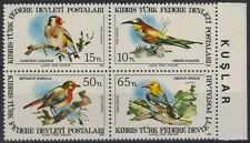 TURKISH REPUBLIC OF NORTHERN CYPRUS 1983, BIRDS, MNH