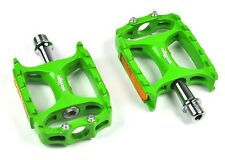 [US SELLER] Wellgo M138 Magnesium Mountain Bike Pedal MTB Pedals 238g - Green