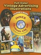 Full-Color Vintage Advertising Illustrations CD-ROM and Book (Dover Electronic
