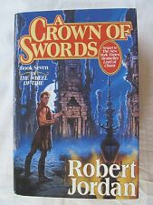 Wheel of Time: A Crown of Swords by Robert Jordan 1996 Hardcover 1st Edition