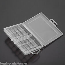 10 Batteries Battery Holder Case Storage Box Cover for AA / AAA Standard Battery