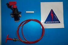 FIA Master switch & Pull cable-race/rally/autograss/rallyX/sprint/motorsport