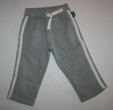 New Gymboree Heather Gray Pants 18-24m NWT Sweatpants Straight A Athletics