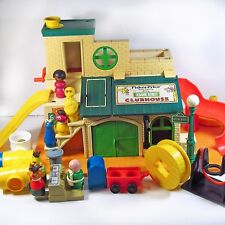 Fisher Price Little People Sesame Street Clubhouse 8 Figures #937 Susan Hooper