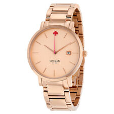 Kate Spade Gramercy Grand Rose Dial Rose Gold-tone Ladies Watch 1YRU0641