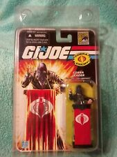 COBRA COMMANDER (black suit) GI Joe 25th Anniversary|2008 SDCC Exclusive