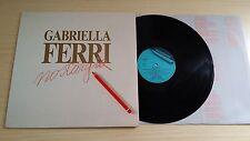 GABRIELLA FERRI - NOSTARGIA - LP 33 GIRI+LYRICS INNER SLEEVE - ITALY PRESS