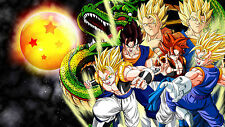 Poster 42x24 cm Dragon Ball Goku Saiyan Shelong 02