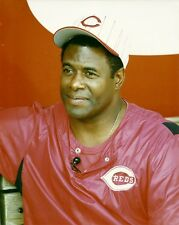 KEN GRIFFEY SR 8x10 CANDID PHOTO (Awesome Closeup Shot) CINCINNATI REDS baseball