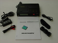 Very Clean Marantz PMD670 Portable Digital Recorder 100-240 VAC/Batt Operation