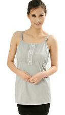 OurSure Maternity Cotton Silver Cami Top Anti-Radiation Protection Grays 8920236