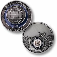 U.S. Navy / Electrician's Mate - USN Challenge Coin