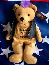 HRC Hard Rock Cafe Lisbon Lissabon Punk Bear Mohawk 2010 Purple Hair Herrington