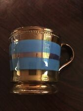 Lovely Antique Copper Lustre Childs Cup - Lovely