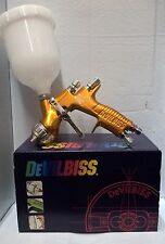 DeVilbiss GTi PRO LITE Spray Gun Cutting Edge Performance TE20 2K clear