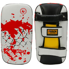 Thai Kick Boxing Strike Curved Arm Pad MMA Focus Muay Punch Shield Training New