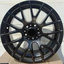 "4 New 18"" Black Wheels Rims for BMW M3 CSL 5 Series 3 E90 325i 328i 335i -107"