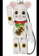 Medicom Bearbrick 2012 Happy Manekineko 70% Neko White Lucky Cat Be@rbrick 1pc