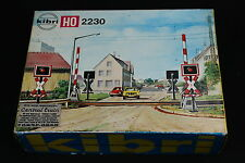 W131 KIBRI Train Ho Maquette B-2230 Passage a niveau diorama railroad crossing