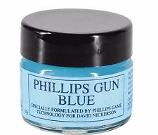 PHILLIPS BLUE GUN BLUING PASTE TOUCH UP GUNSMITH REPAIR MAINTENANCE 20g JAR