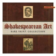 SHAKESPEAREAN ART Rare Print Collection cd-rom 146 rare prints + 12 covers XCLNT