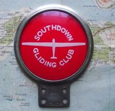 Quality Heavy Chrome Car Mascot Badge for Southdown Gliding Club by Automotiff