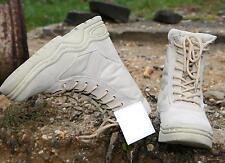 Army Outdoor Boots Größe 47 Armee Stiefel Militär Schuhe khaki beige BW Schuh