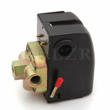 New 240V 4 Port Air Compressor Pressure Control Switch 95-125 PSI w/On/off Lever