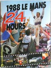 LE MANS 24 HOURS 1988 YEARBOOK / ANNUAL MOITY TEISSEDRE BOOK ISBN:0951284010