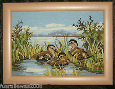Gobelin Bild Gobelinbild + Spezial Holzrahmen Sticken Handcraft  MADE IN GERMANY
