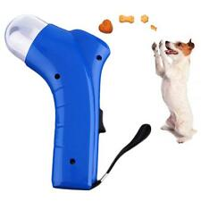 New Dog Cat Treat Launcher Pet Interactive Fun Snacks Food Giving Training Toy