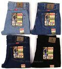 Wrangler Jeans New Mens Regular Fit Zipper Fly 29 30 31 32 33 34 35 36 38 40 42