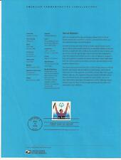 # 3771 SPECIAL OLYMPICS 2003 Official Souvenir Page