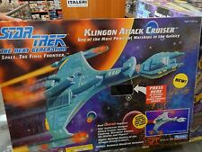 Classic Star Trek Klingon Attack Cruiser- Playmates working lights sound efects