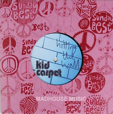 "KID CARPET 7"" Hitting The Wall Ltd SUNDAYS BEST vinyl NEW"