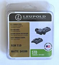 Leupold STD Standard Remington 710 Steel Scope Mount 2-Piece Matte Finish 5