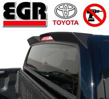 EGR 2014-17 Toyota Tundra CrewMax No-Drill Tape-On Truck Cab Spoiler Matte Black