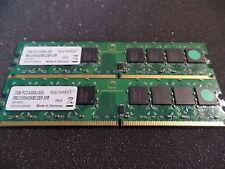 Swissbit MEU25664D6BC2EP-30R PC5300 DDR2 RAM 4GB ( 2x 2GB ) #R1513