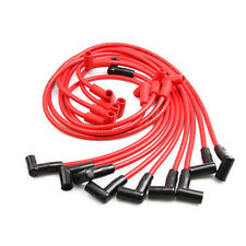 8mm Spark Plug Wire Red for Chevrolet GMC Buick Pontiac V8 High Performance Part